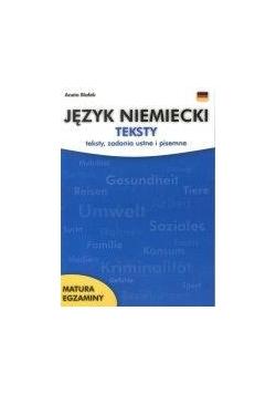 Język niemiecki Teksty  KRAM