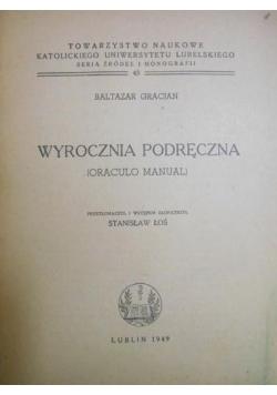 Wyrocznia Podręczna, 1949 r.
