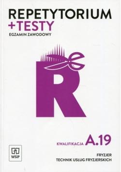 Repetytorium i testy Egzamin zawodowy Kwalifikacja A.19