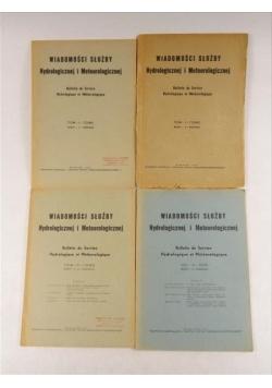 Wiadomości Służby Hydrologicznej i Meteorologicznej, T. I-III