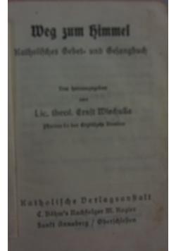 Weg zum zimmel, 1939 r.