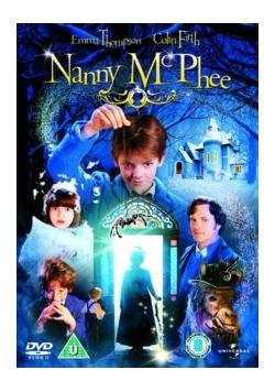 Nanny McPhee, płyta DVD