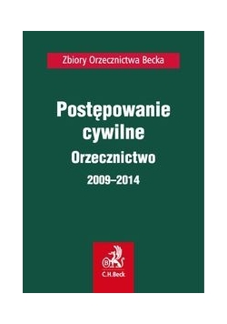 Postępowanie cywilne Orzecznictwo 2009-2014