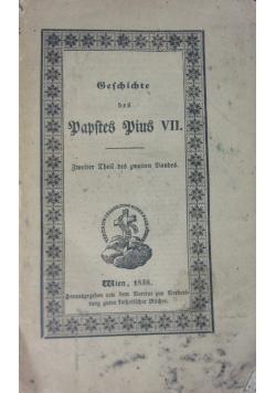 Geschichte des Papstes Pius VII. 1838 r.