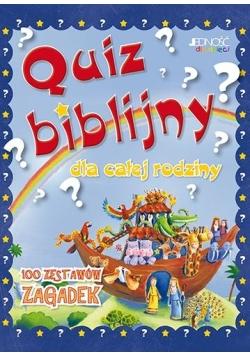 Quiz biblijny dla całej rodziny