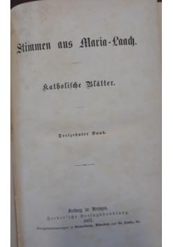 Stimmen aus Maria Laach, 1877 r.