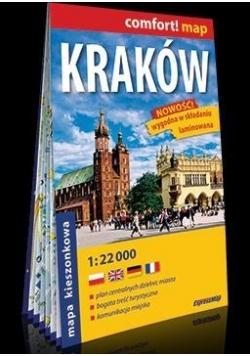 Comfort!map Kraków 1:22 000 plan miasta, midi 2018
