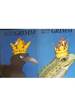 Baśnie Braci Grimm, tom 1 i 2