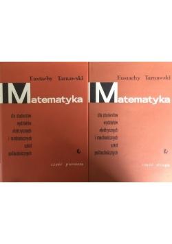 Matematyka dla studentów wydziałów elektrycznych i mechanicznych szkół politechnicznych, 2 części