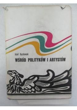 Wśród polityków i artystów