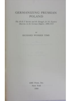 Germanizing Prussian Poland