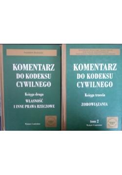Komentarz do kodeksu cywilnego, księga 2 i 3