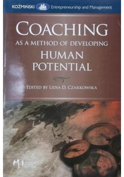 Coaching as a Method of Developing, Human Potential