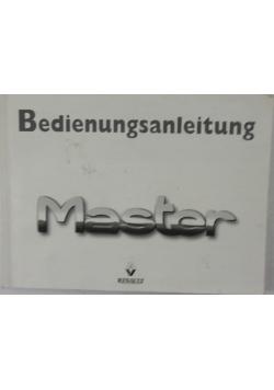 Bedienungsanleitung Master
