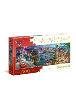 Puzzle Panorama Collection Auta 1000