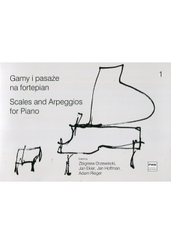 Gamy i pasaże na fortepian 1