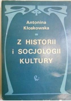 Z historii i socjologii kultury