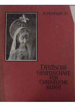 Deutsche gesellschaft für christliche kunst 1929