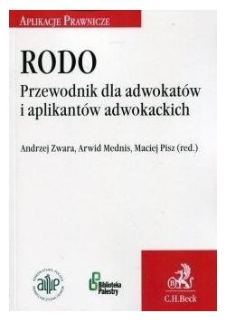 RODO Przewodnik dla adwokatów i aplikantów....