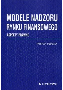 Modele nadzoru rynku finansowego