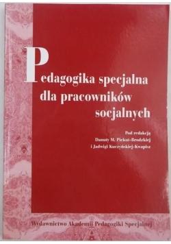 Pedagogika specjalna dla pracowników socjalnych