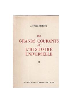 Les grands courants de l' histoire universelle II, 1946 r.