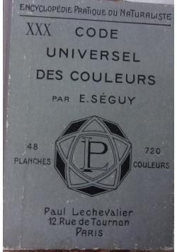 Code universel des couleurs