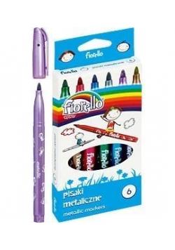 Pisaki Metallic 6 kolorów FIORELLO