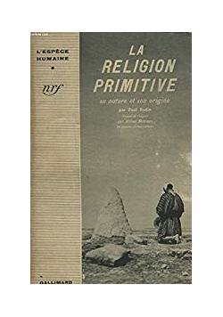 La religion primitive,1941r.