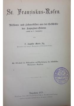 St. Fraanziskus-Rolen., 1879r.