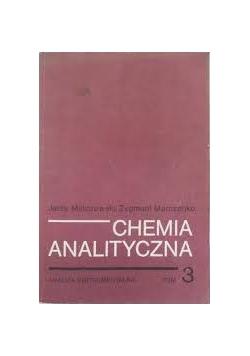 Chemia analityczna Tom III