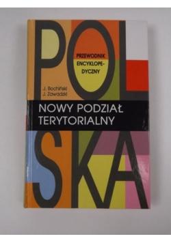 Polska. Nowy podział terytorialny