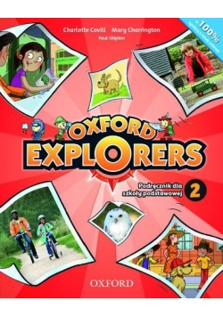 Oxford Explorers 2 SB + CD OXFORD wieloletni, nowa