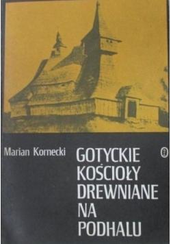 Gotyckie kościoły drewniane na Podhalu