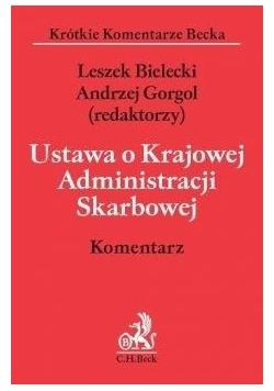 Ustawa o Krajowej Administracji Skarbowej