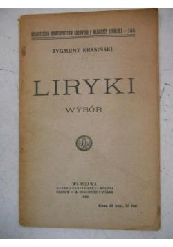 Liryki wybór, 1910 r.