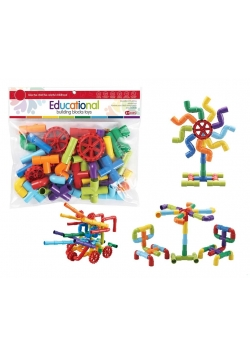 Klocki - puzzle 44 elementy