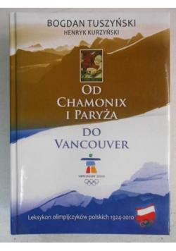Od Chamonix i Paryża do Vancouver