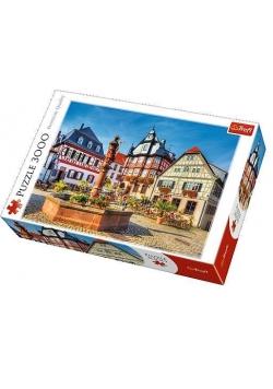 Puzzle 3000 Rynek w Heppenheim, Niemcy TREFL