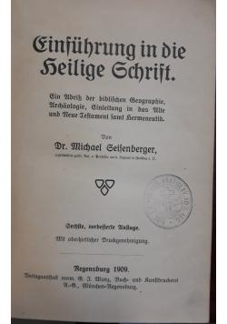 Biblichen Gelchichte, 1903 r.