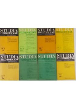 Studia filozoficzne, zestaw 8 książek