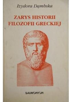 Zarys historii filozofii greckiej