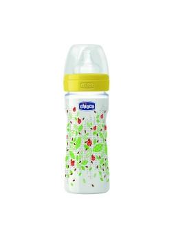 Butelka plastikowa 250 ml Smoczek silikonowy trójprzepływowy