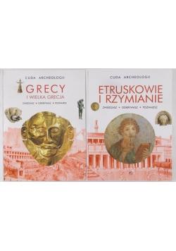 Cuda archeologii.-Grecy i wielka Grecja/Etruskowie i Rzymianie