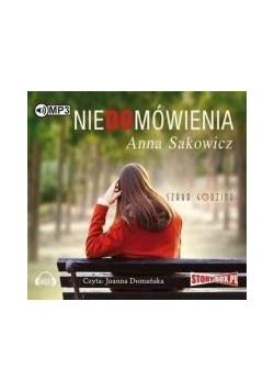 Niedomówienia Audiobook
