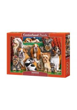 Puzzle 3000 Dog Club CASTOR