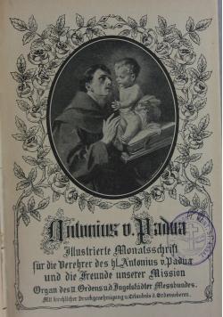 Antonius v. Padva, 1913 r.