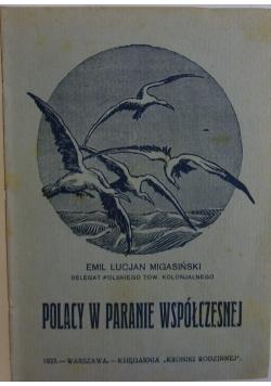 Polacy w paranie współczesnej 1923r