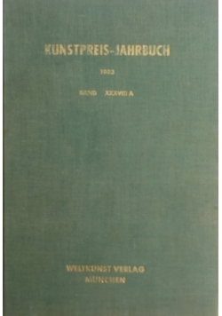 Kunstpreis-Jahrbuch 1983