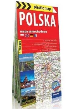 Polska 1:700 000 mapa samochodowa w.2018
